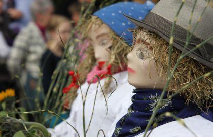 Erntedankfest, Strohfiguren