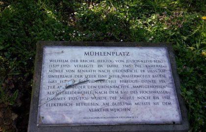 Mutwillige Zerstörung in Urdenbach