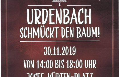 Urdenbach schmückt den Baum 2019