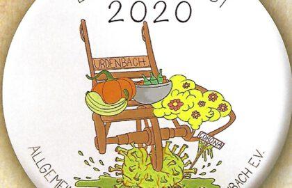 Button zum Erntedankfest 2020